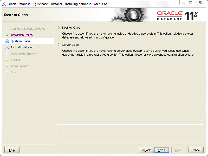 install oracle step 3