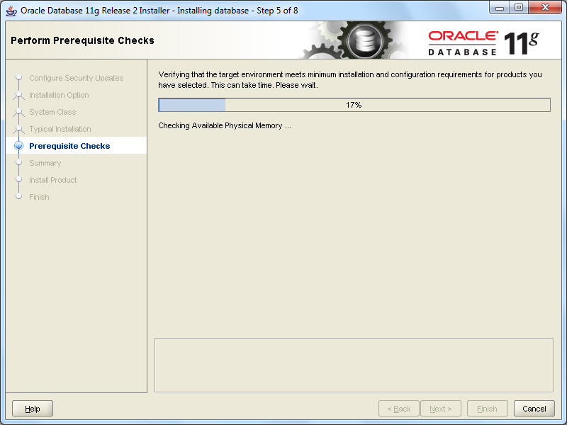 install oracle step 5